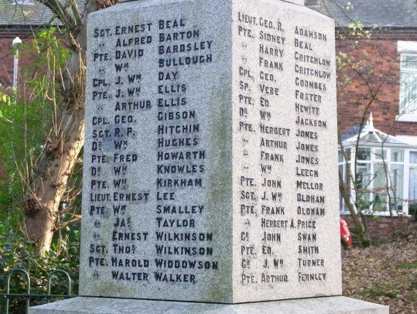 Carl's Cam: War Memorial, Godley Hill, Cheshire.